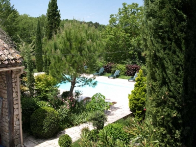 holiday rental farmhouse pool