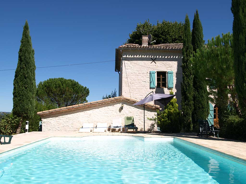 Villa Pool Cahors Lot Valley France
