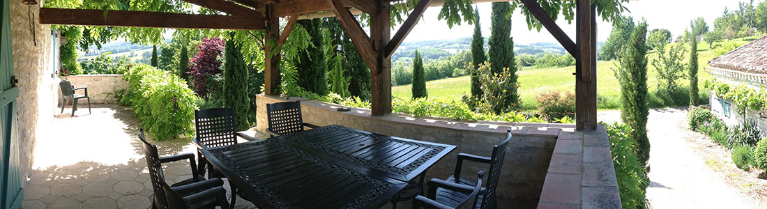 French holiday farmhouse rental Cahors Lot Valley